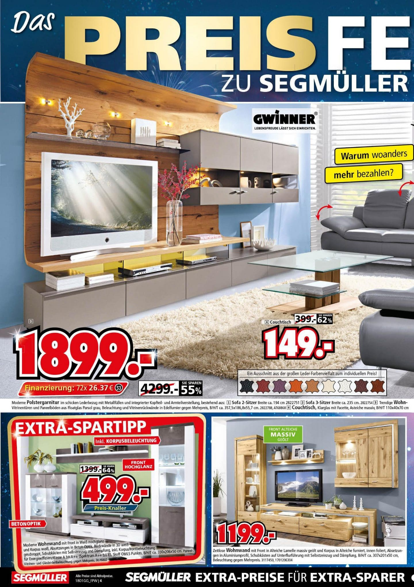 Finest Werbung With Segmller Couchtisch