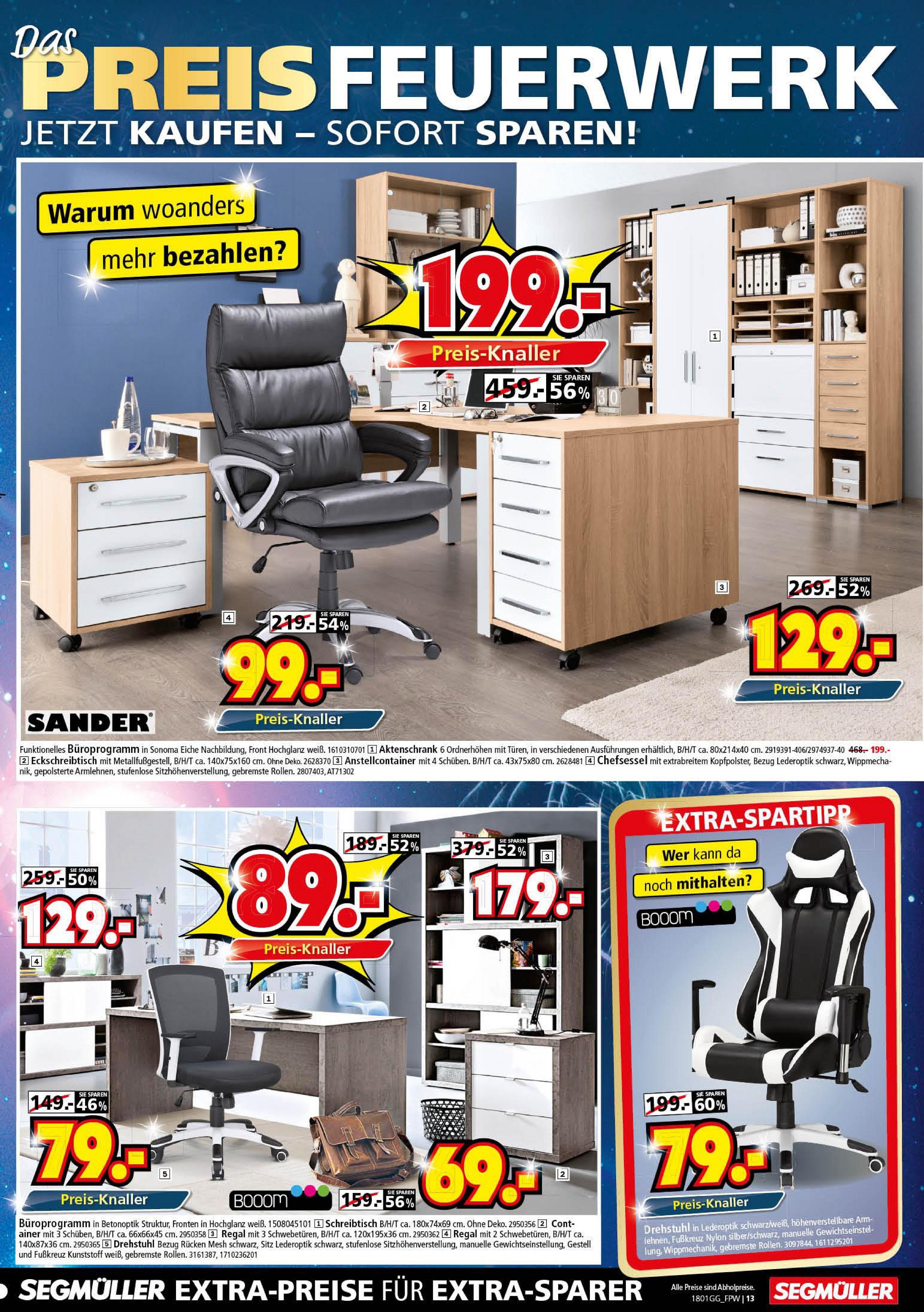 segm ller angebote g ltig vom bis. Black Bedroom Furniture Sets. Home Design Ideas