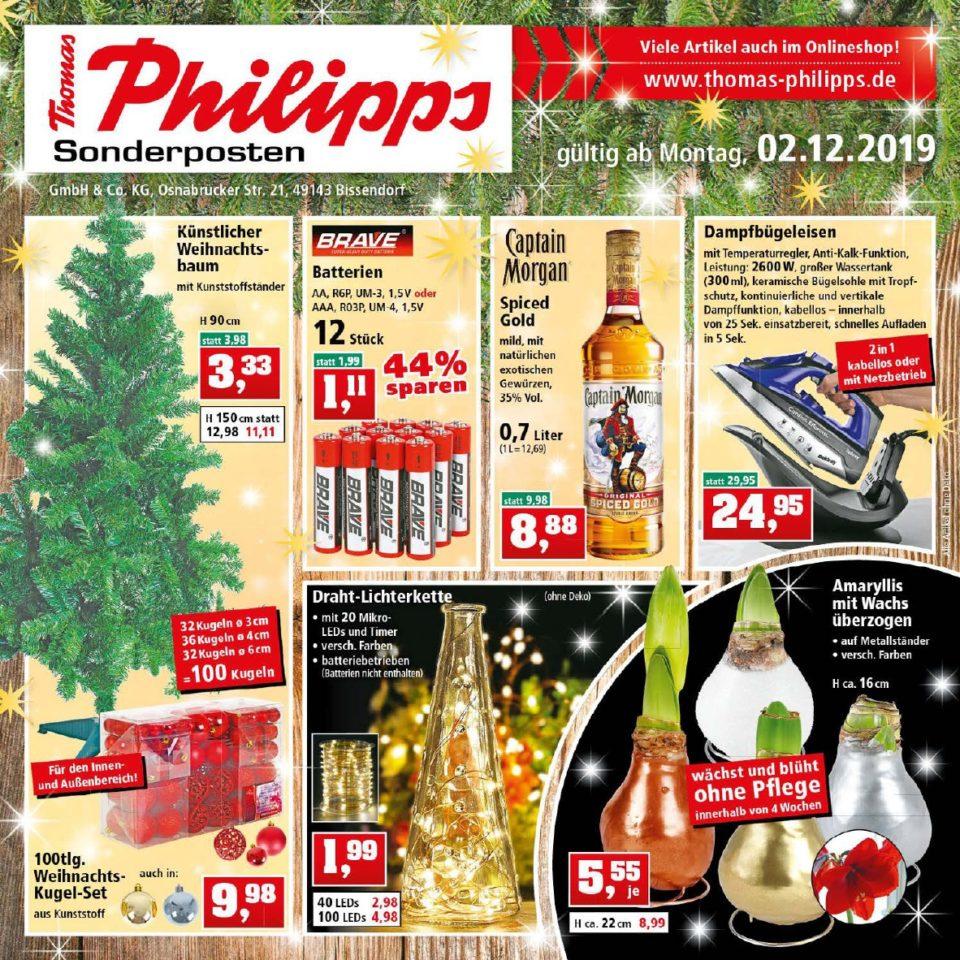 Thomas Philipps Angebote gültig vom 02.12.2019 bis 07.12.2019